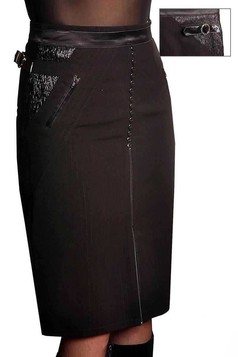 юбка Klever 409 черный