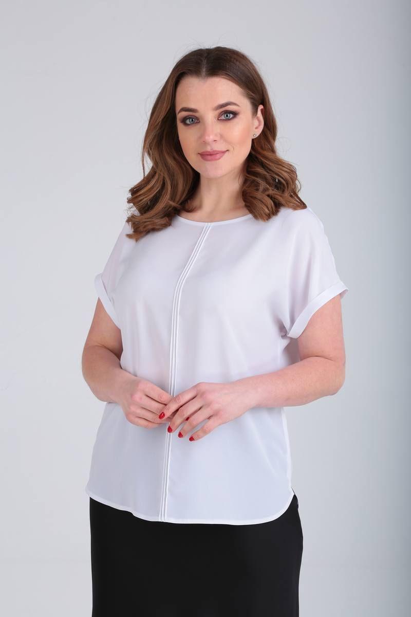блуза Bliss 8597 белый