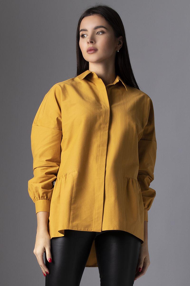 блуза VIZAVI 631 горчица