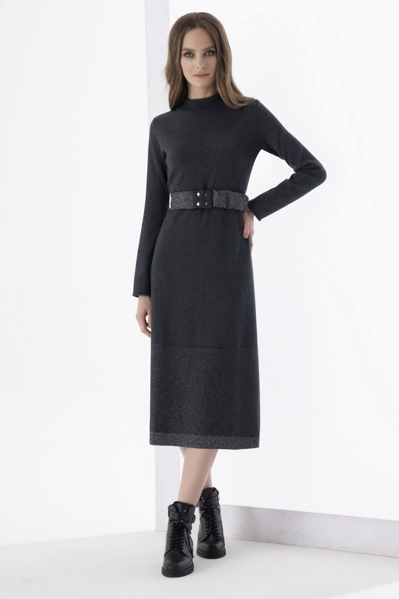 платье Barbara Geratti by Elma 2756 темно-серый