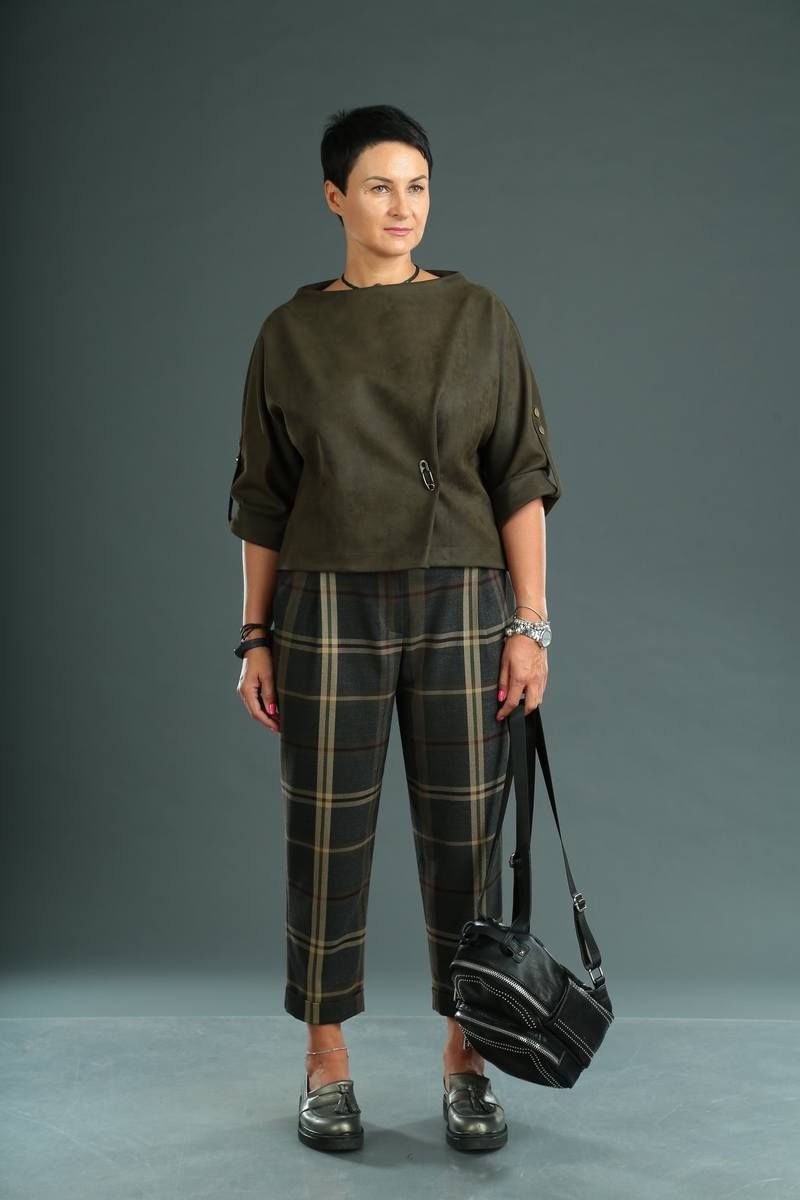блуза,  брюки ZigzagStyle 327