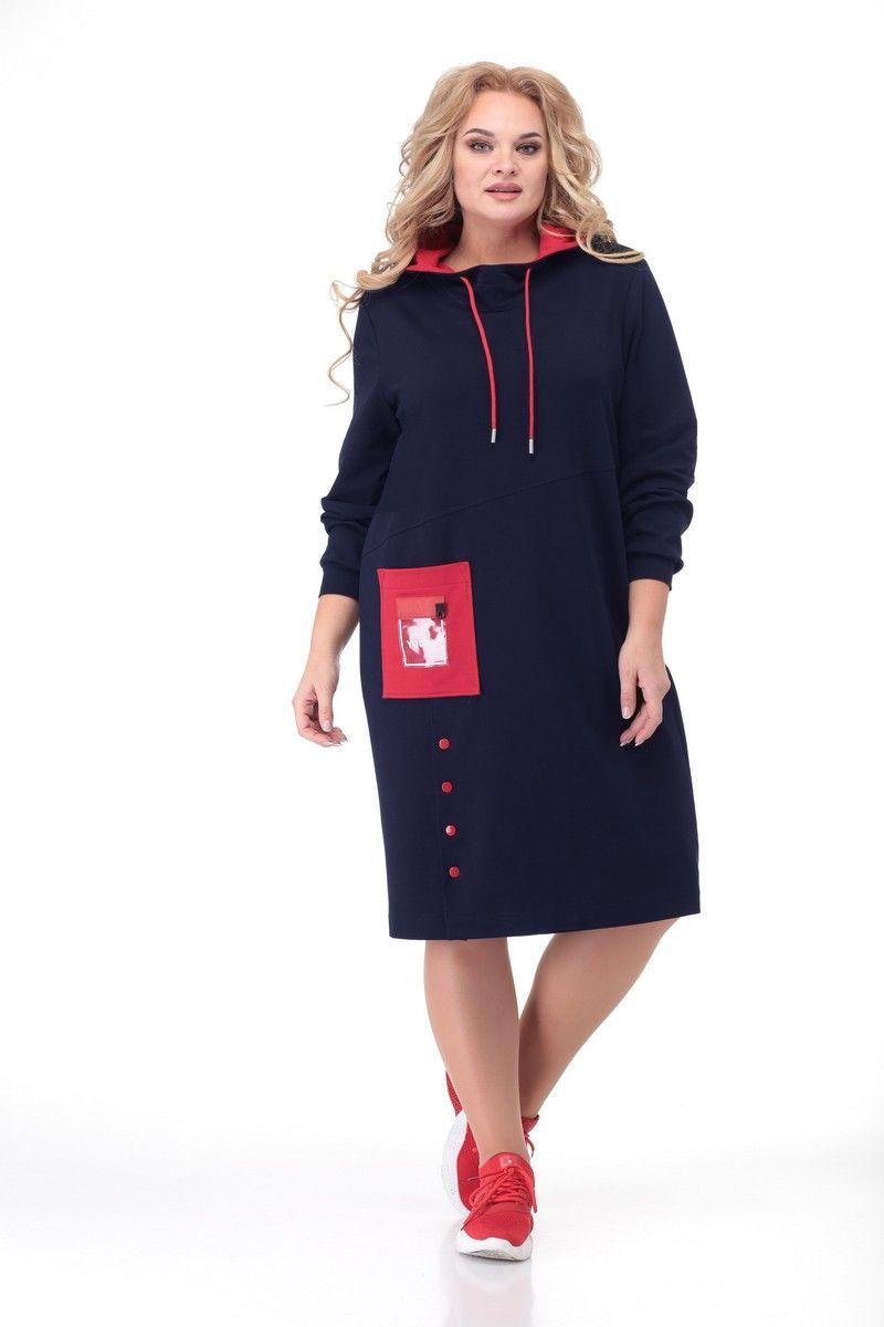 платье Кэтисбел 1522 синий