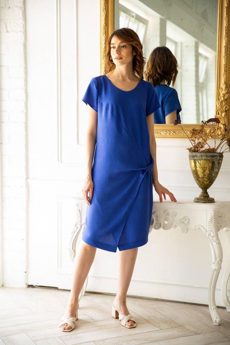 платье Ivera 811 васильковый