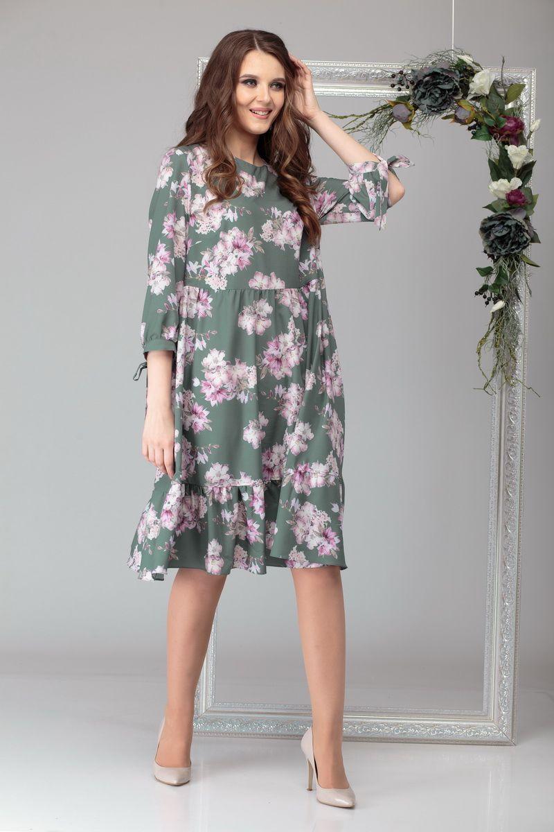 платье Michel chic 994 оливковый
