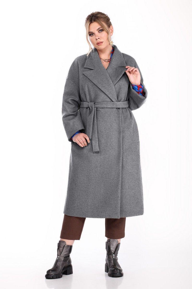 пальто Pretty 1310 графит
