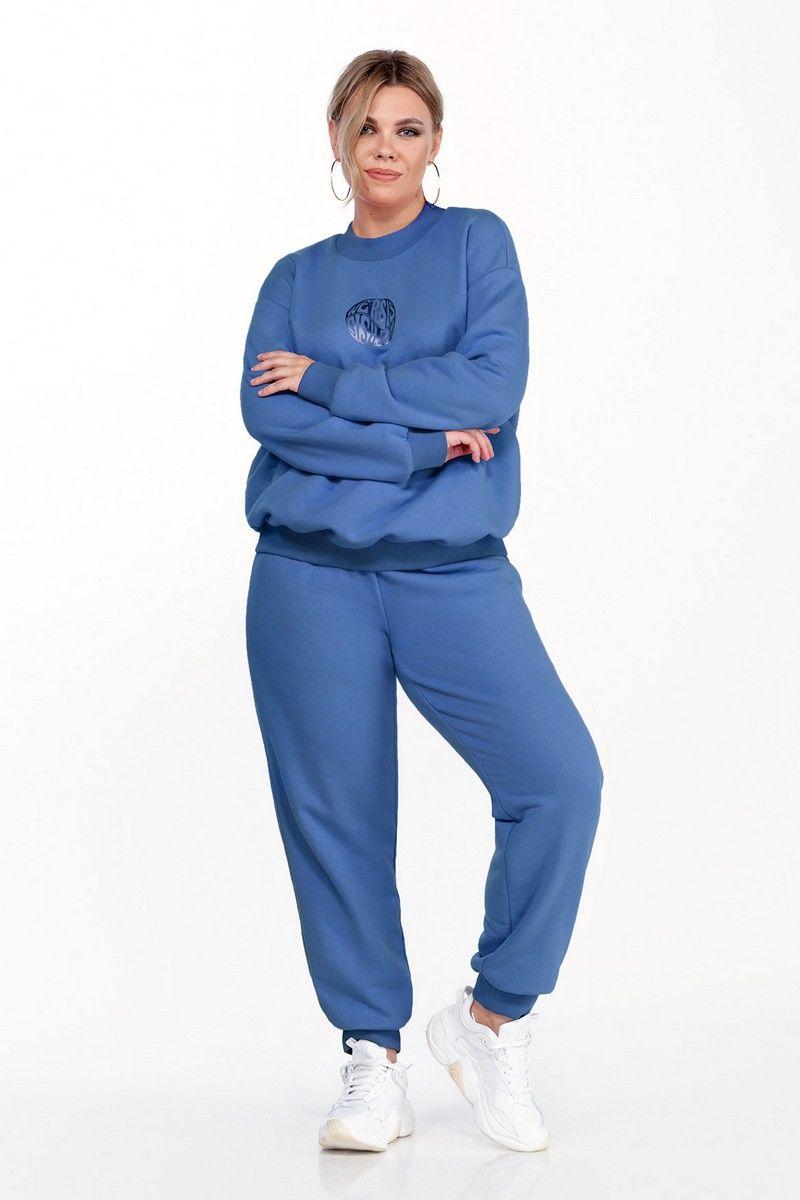 брюки,  свитшот Pretty 1583 джинс