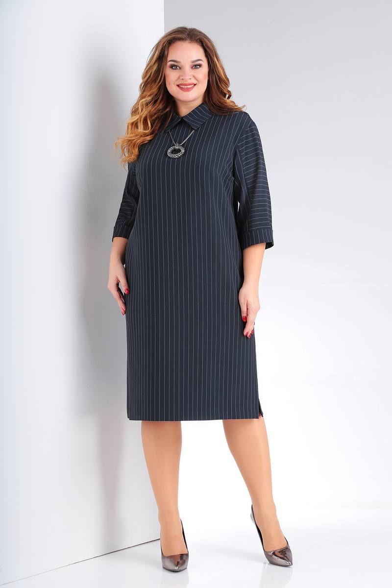 платье Vilena 665 графит