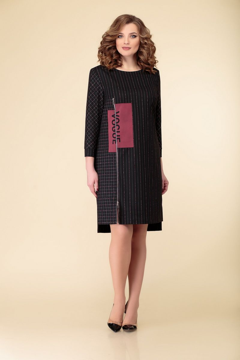 платье DaLi 2520 спинка_клетка