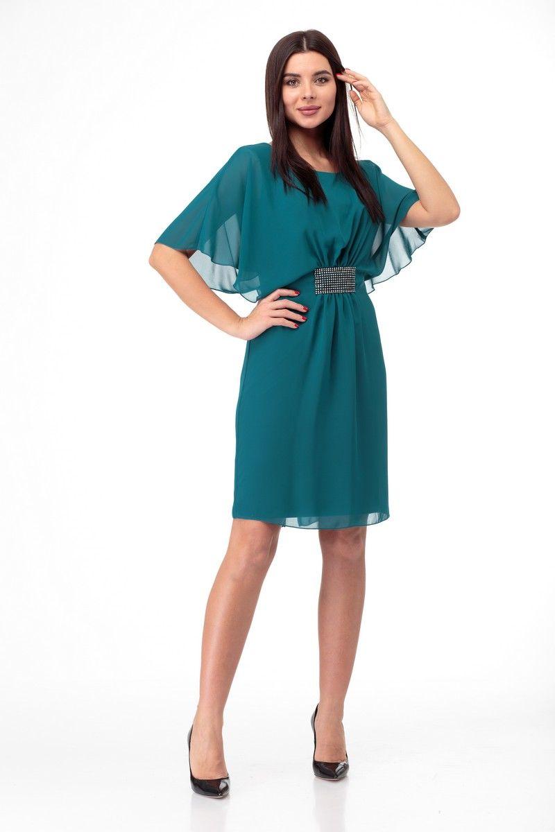 платье Anelli 139 бирюза