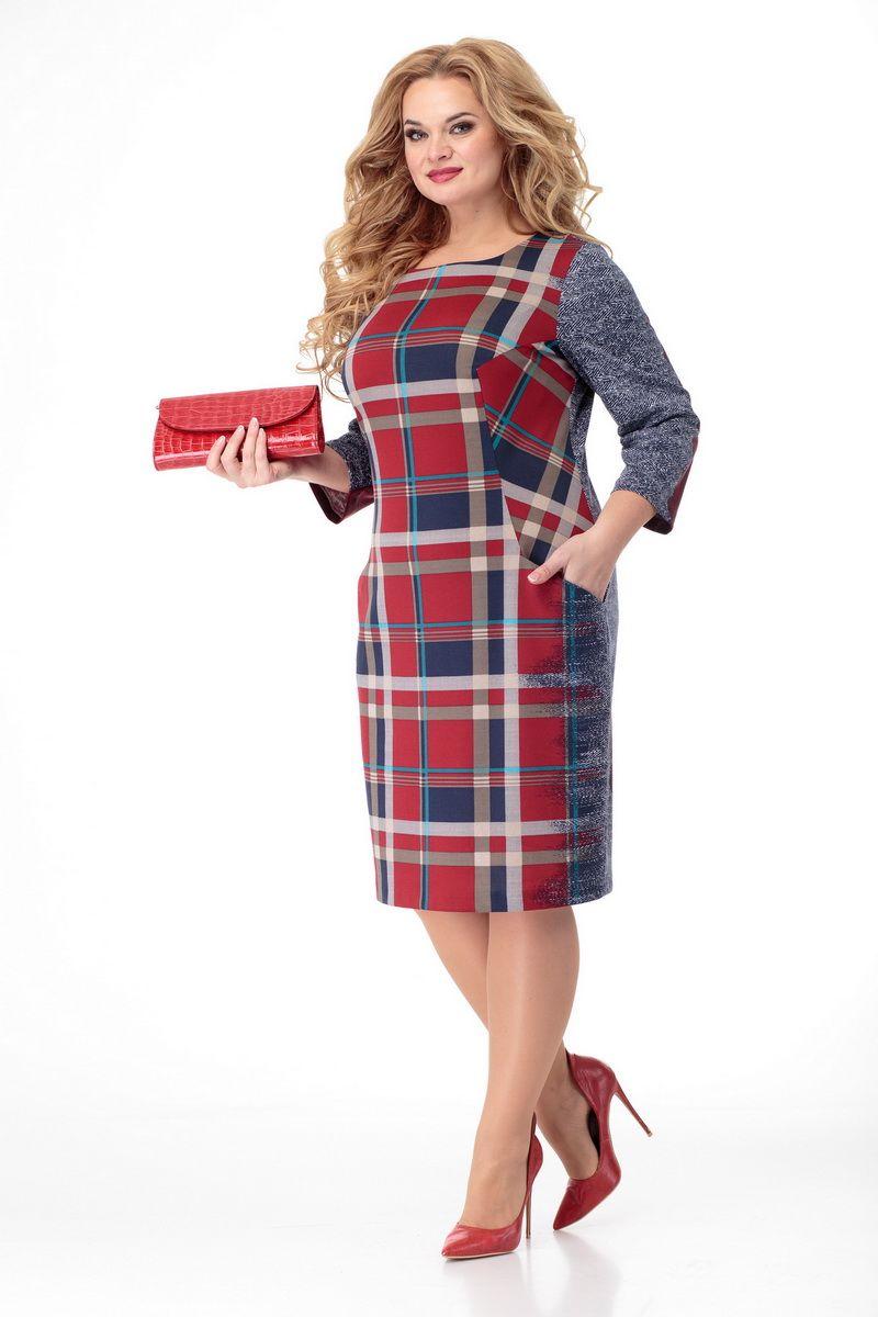 платье БелЭльСтиль 709 красный