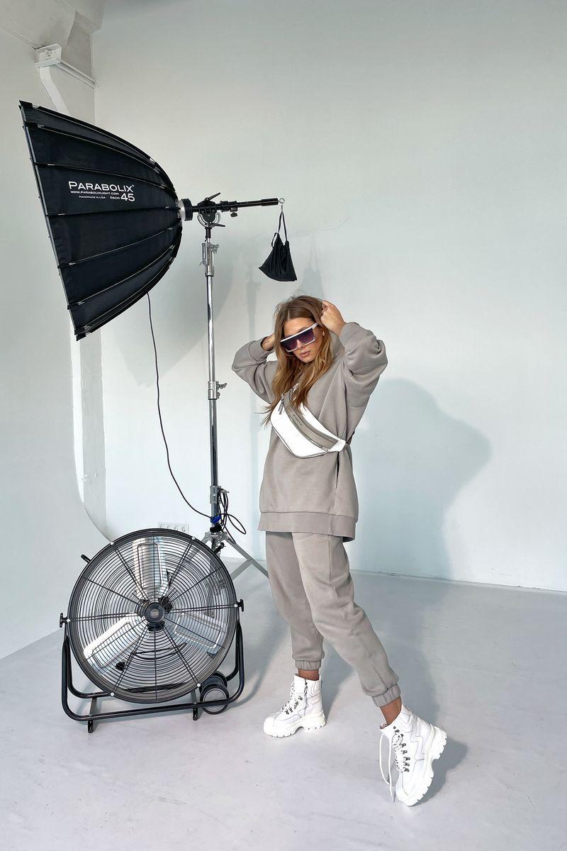 брюки Rawwwr clothing 213-начес серый