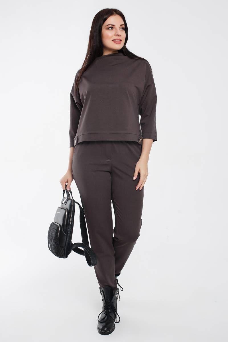 блуза,  брюки Gold Style 2463 графит