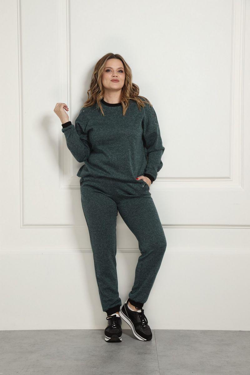 брюки AMORI 5127 зеленый