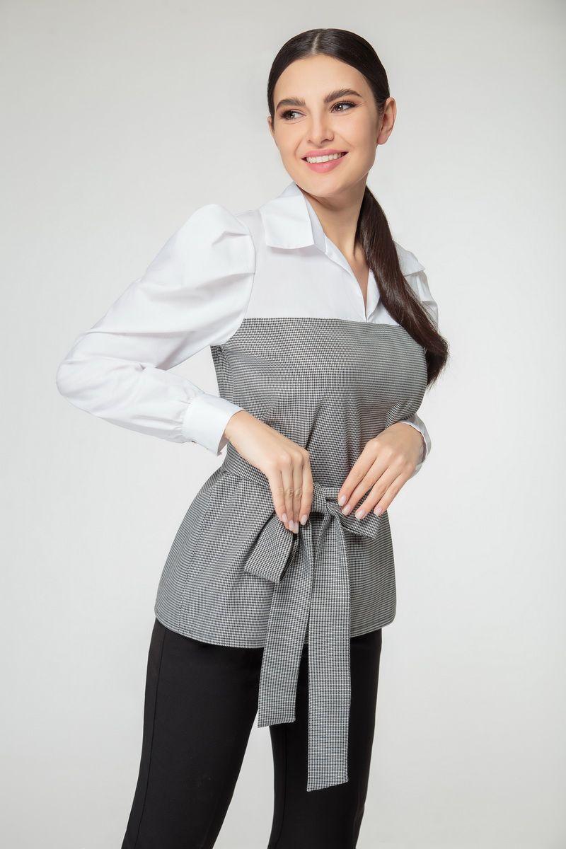 блуза Nivard 1123 мелкая_гус.лапка
