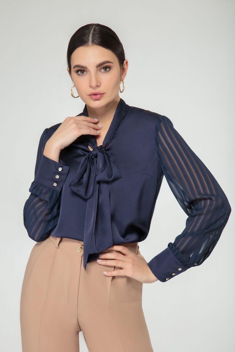 блуза Nivard 1126 синий