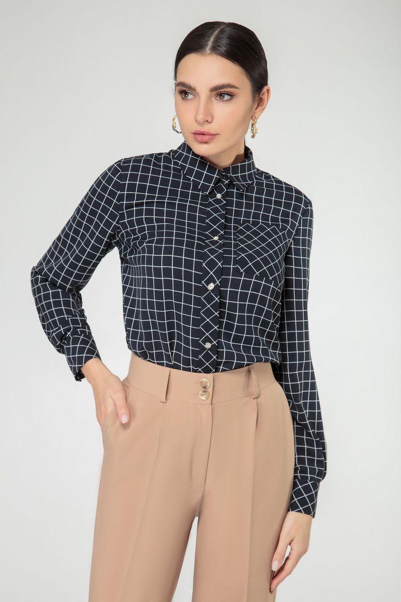 блуза Nivard 1124 синий