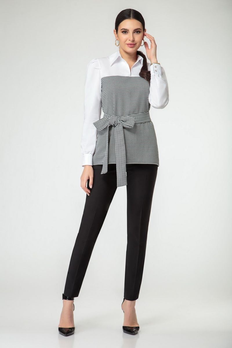 блуза Nivard 1123 гус.лапка