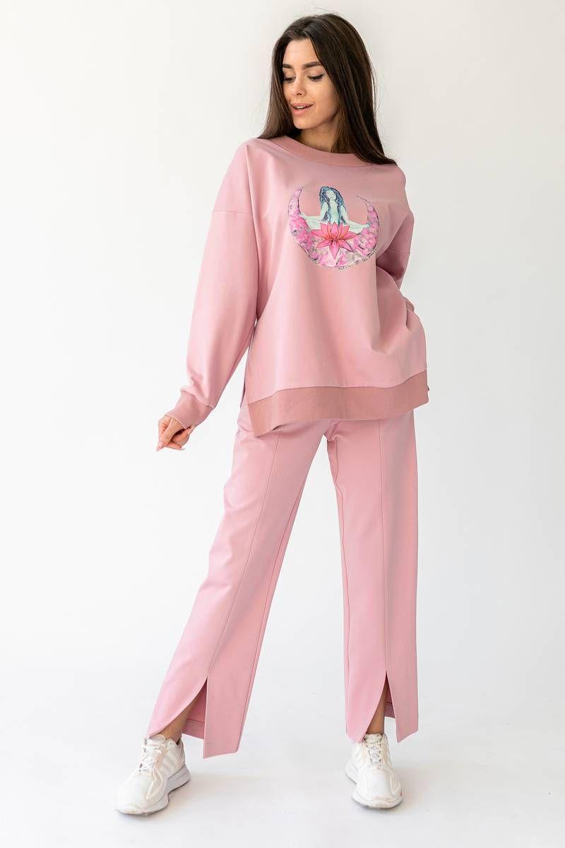 брюки, худи La Stella malenki_m4_rose_print
