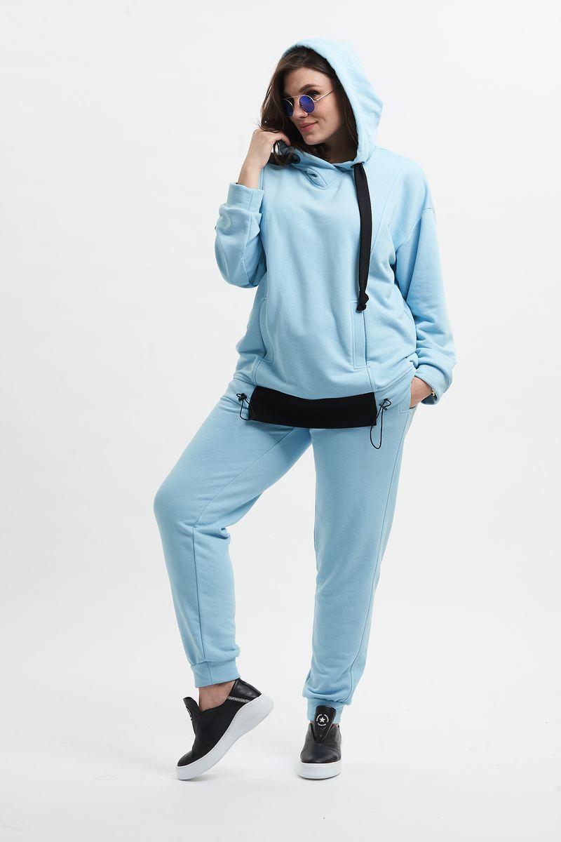 брюки, худи GRATTO 1110 голубой