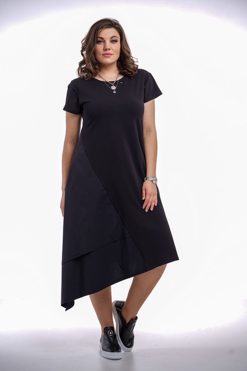платье GRATTO 8003 черный