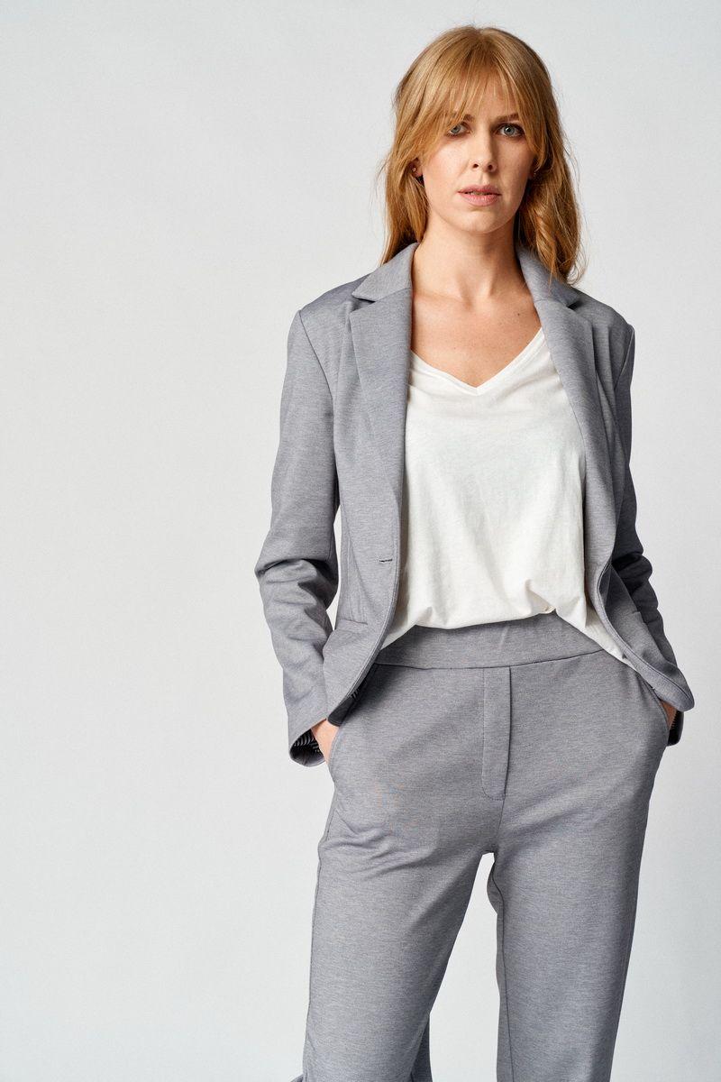 брюки,  жакет Almirastyle 111 серый