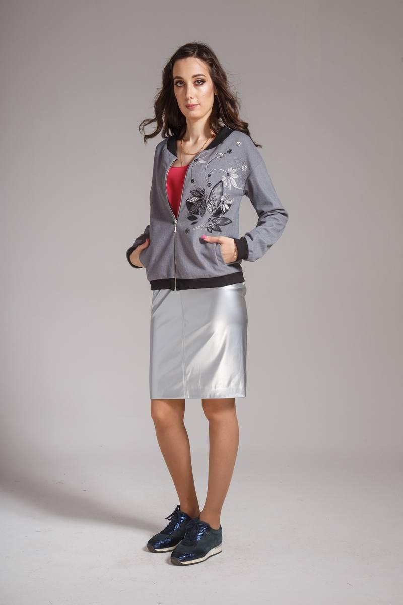 юбка AMORI 3054 металлик