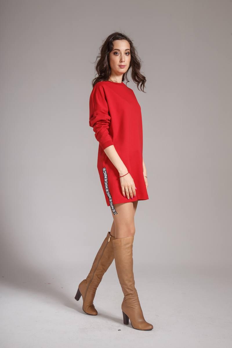 платье AMORI 9317 вишня