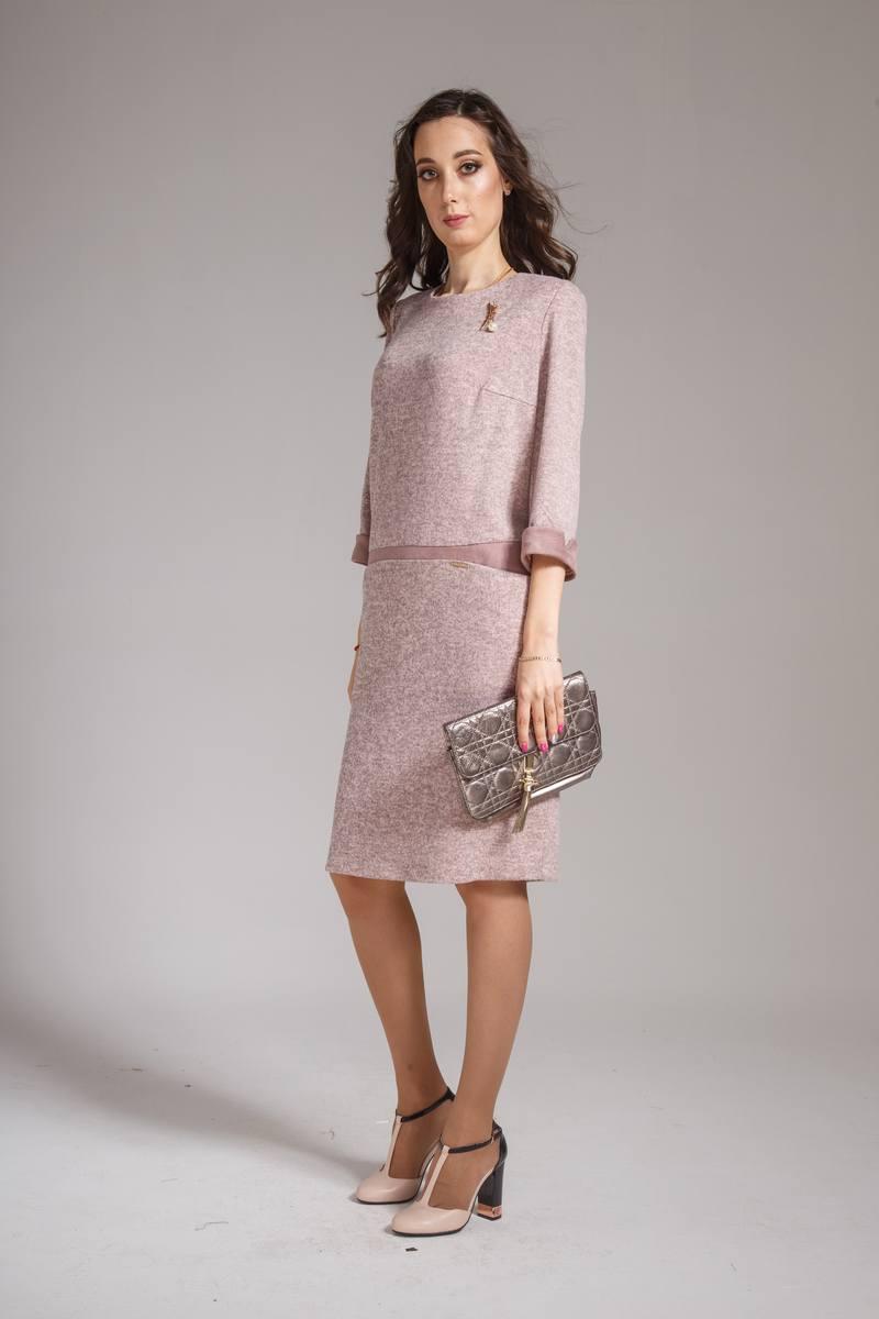 платье AMORI 9298 пудра