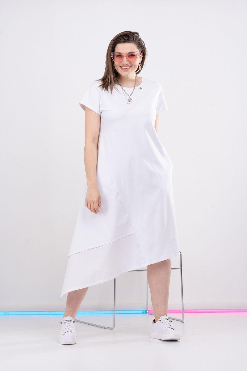 платье GRATTO 8003 белый