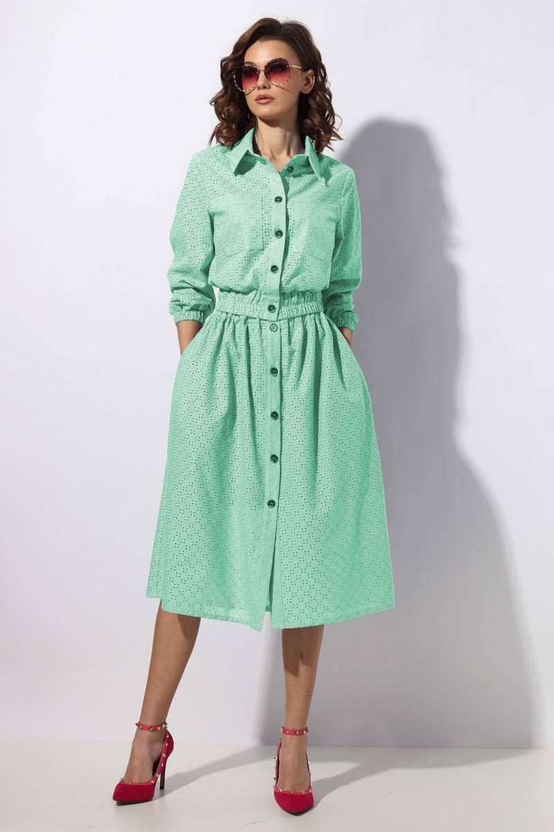 блуза,  юбка Mia-Moda 1241-4
