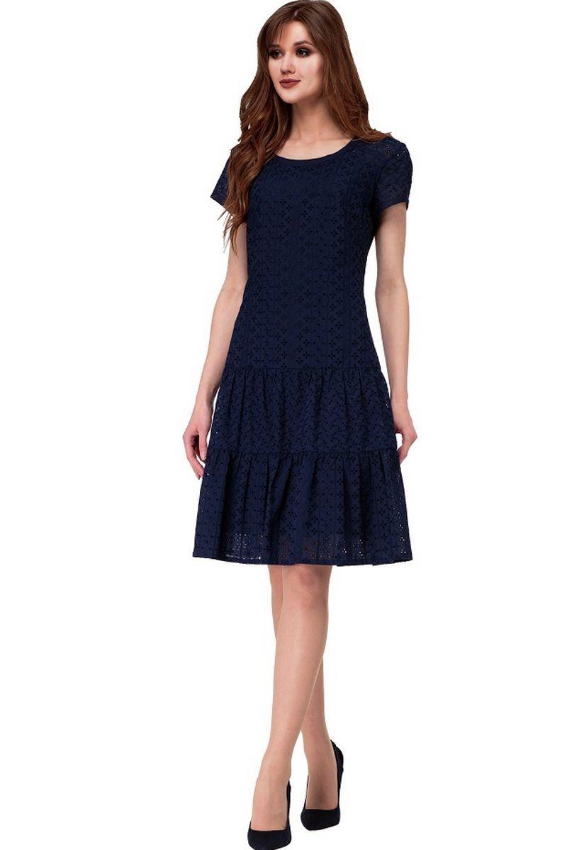 платье AMORI 9524 синий