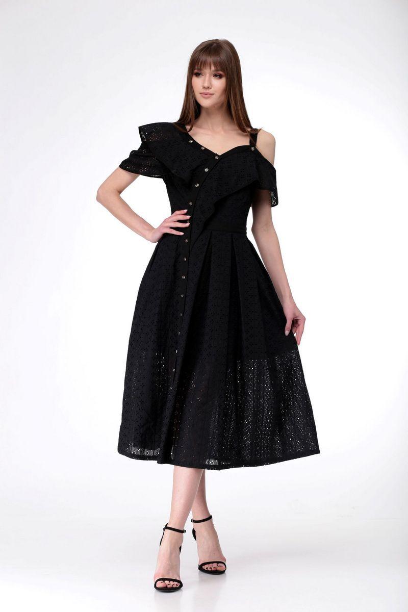 платье AMORI 9531 черный