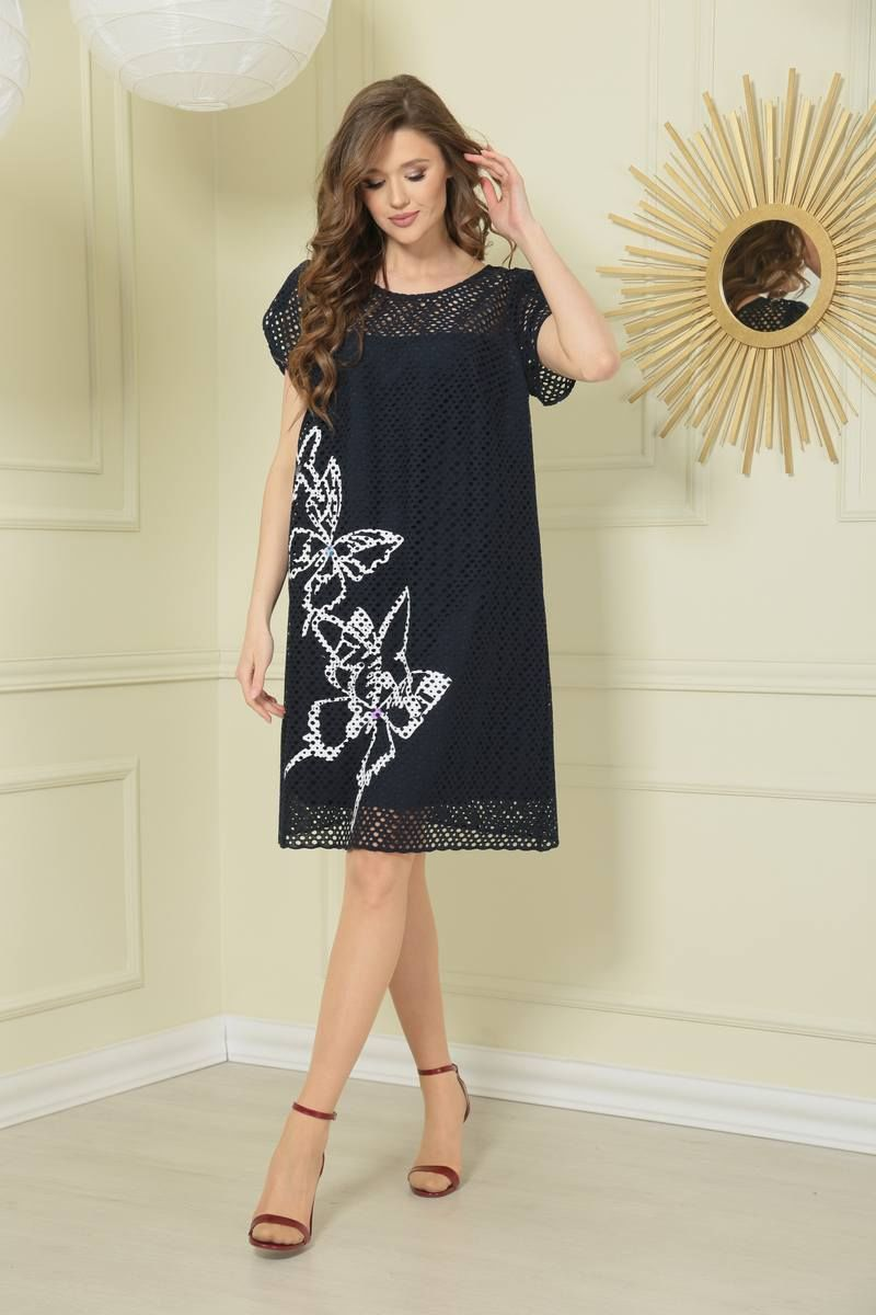 платье TAiER 976 темно-синий