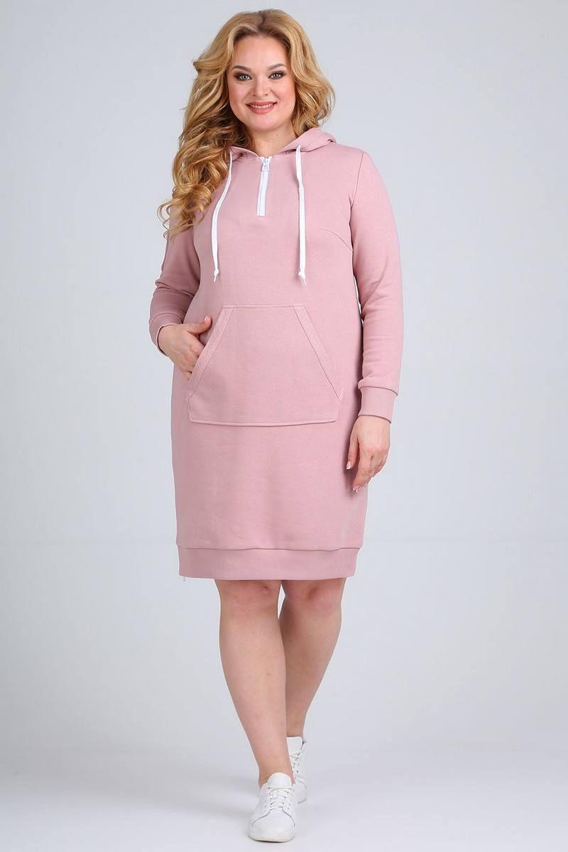 платье Ollsy 1556 розовый