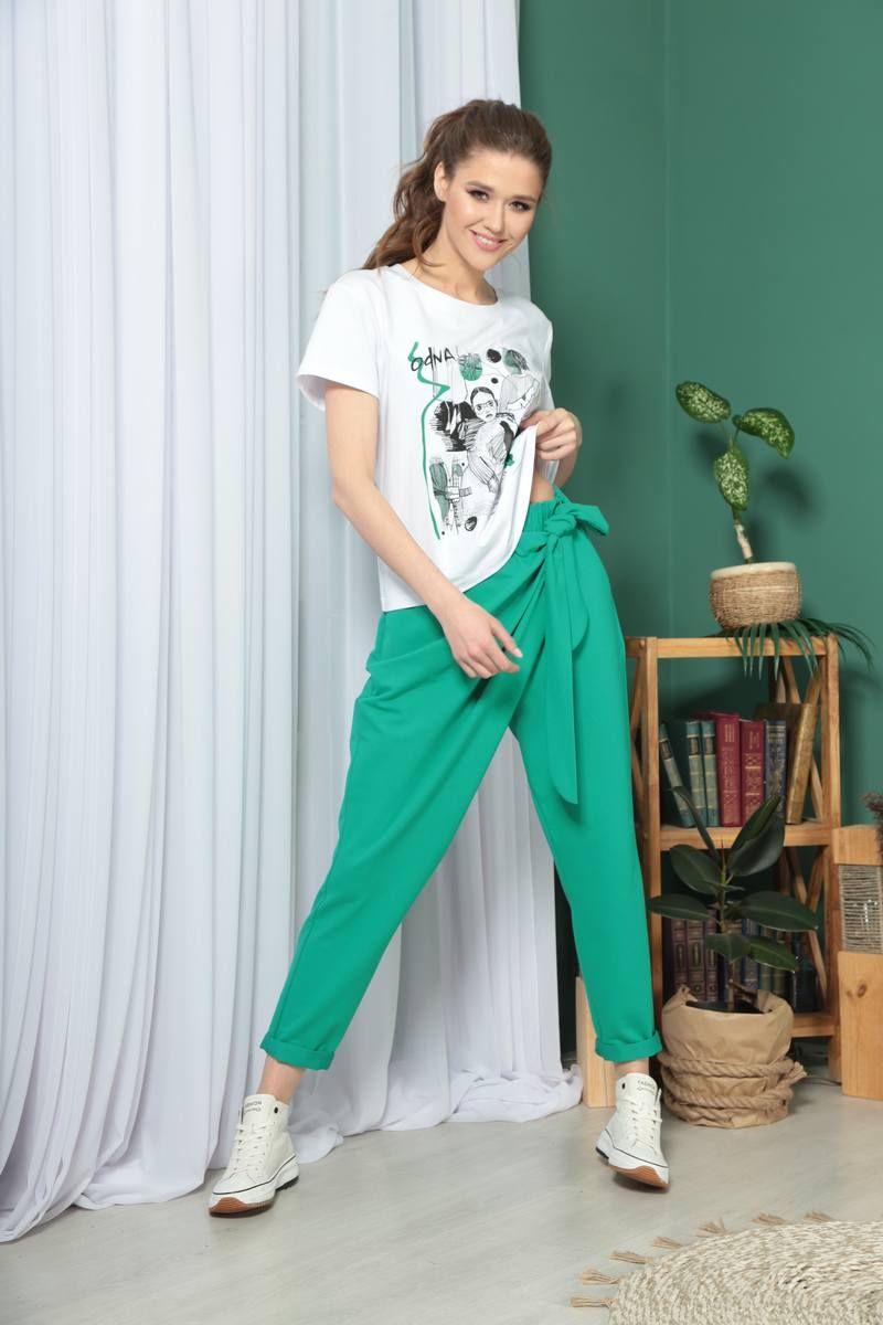 брюки TAiER 958 зеленый