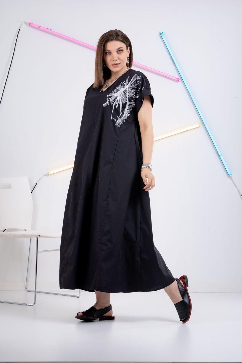платье GRATTO 8112 черный1