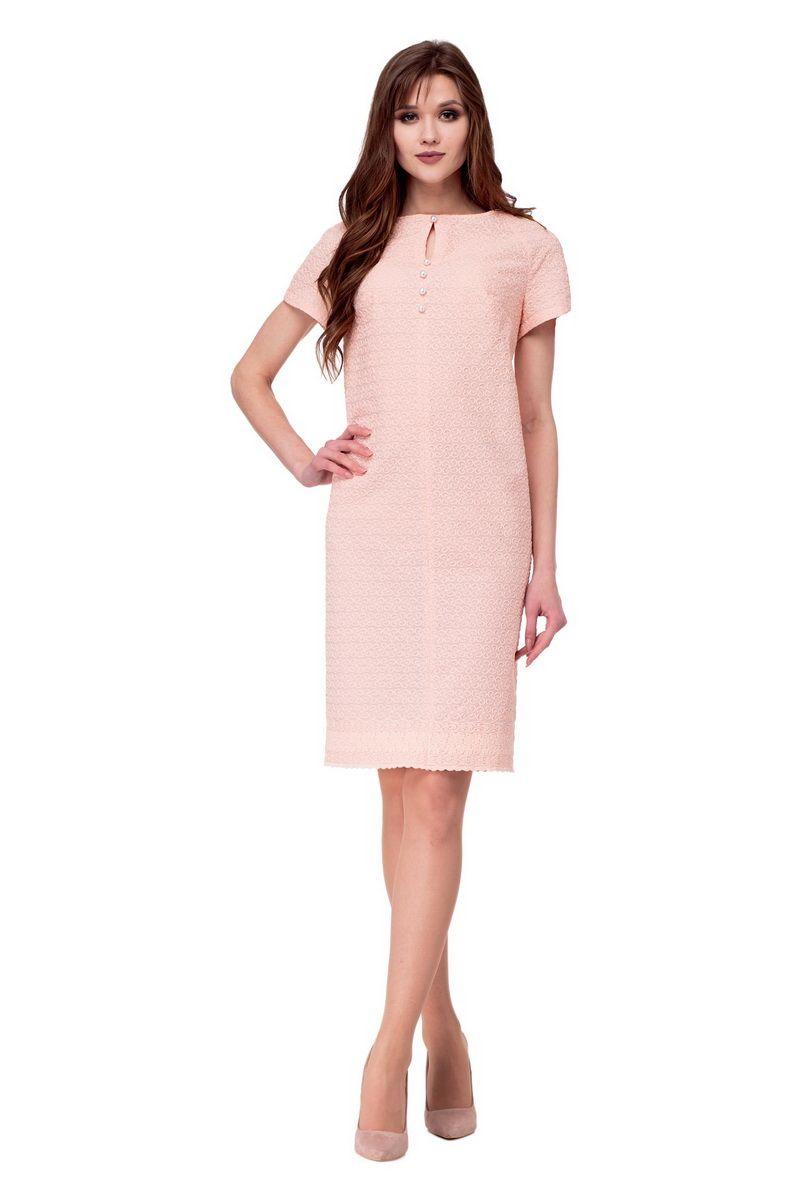 платье AMORI 1743 пудра