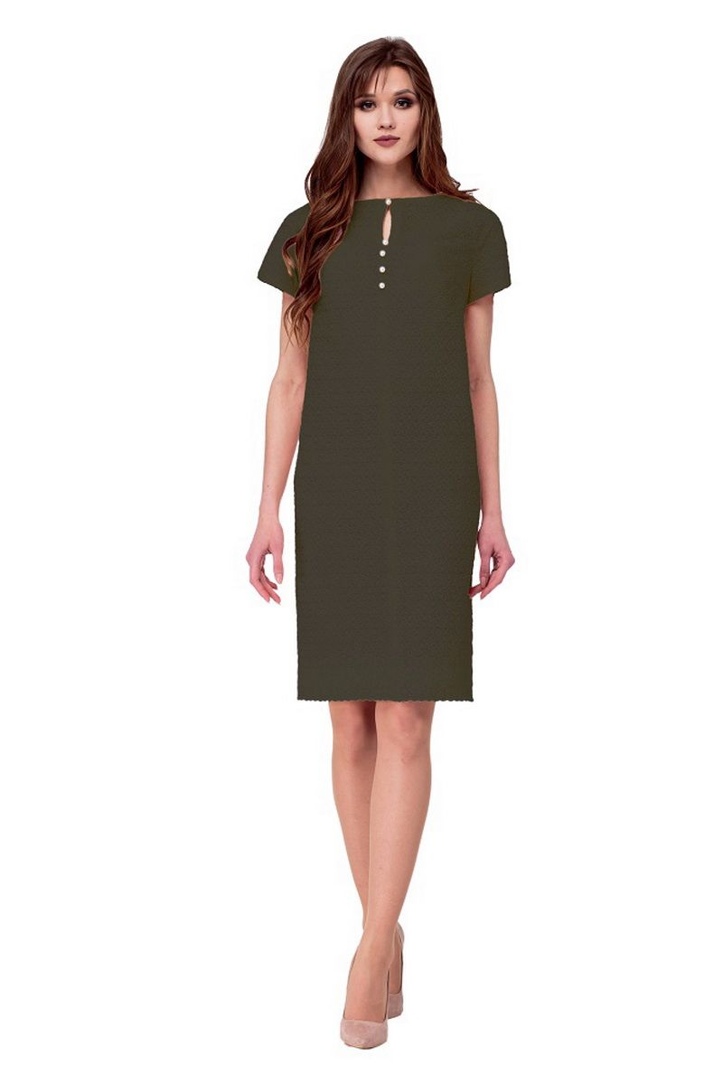 платье AMORI 1743 хакки