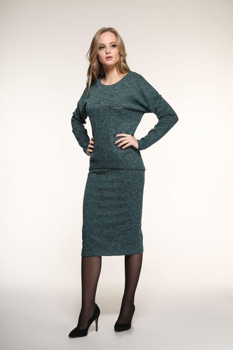 юбка AMORI 3064 зеленый