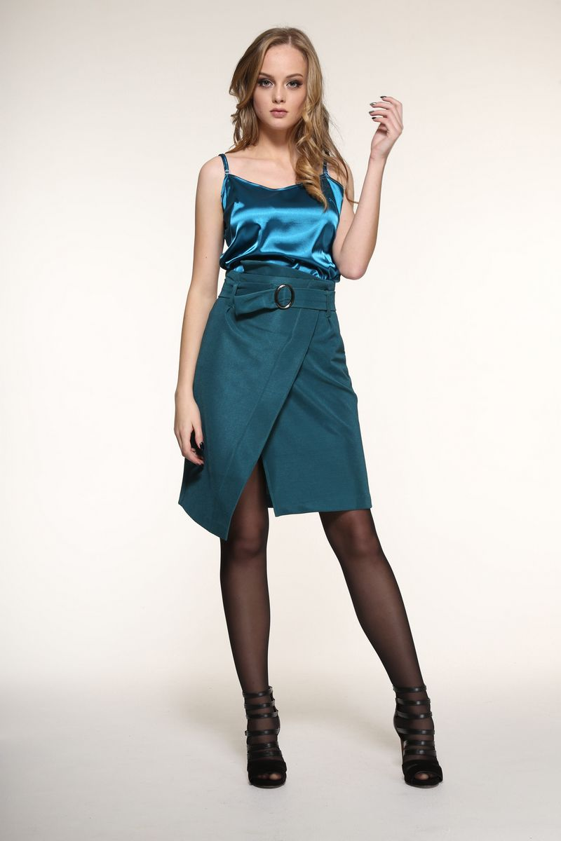 юбка AMORI 3068 зеленый
