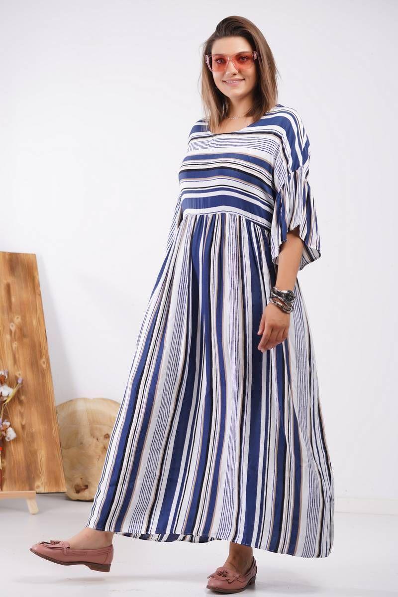 платье GRATTO 8112 полоска