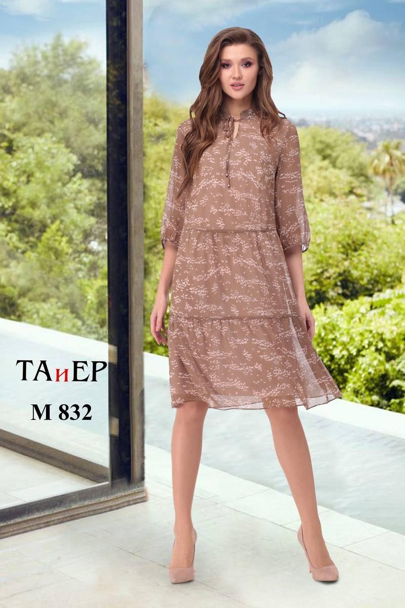 платье TAiER 832 шоколад