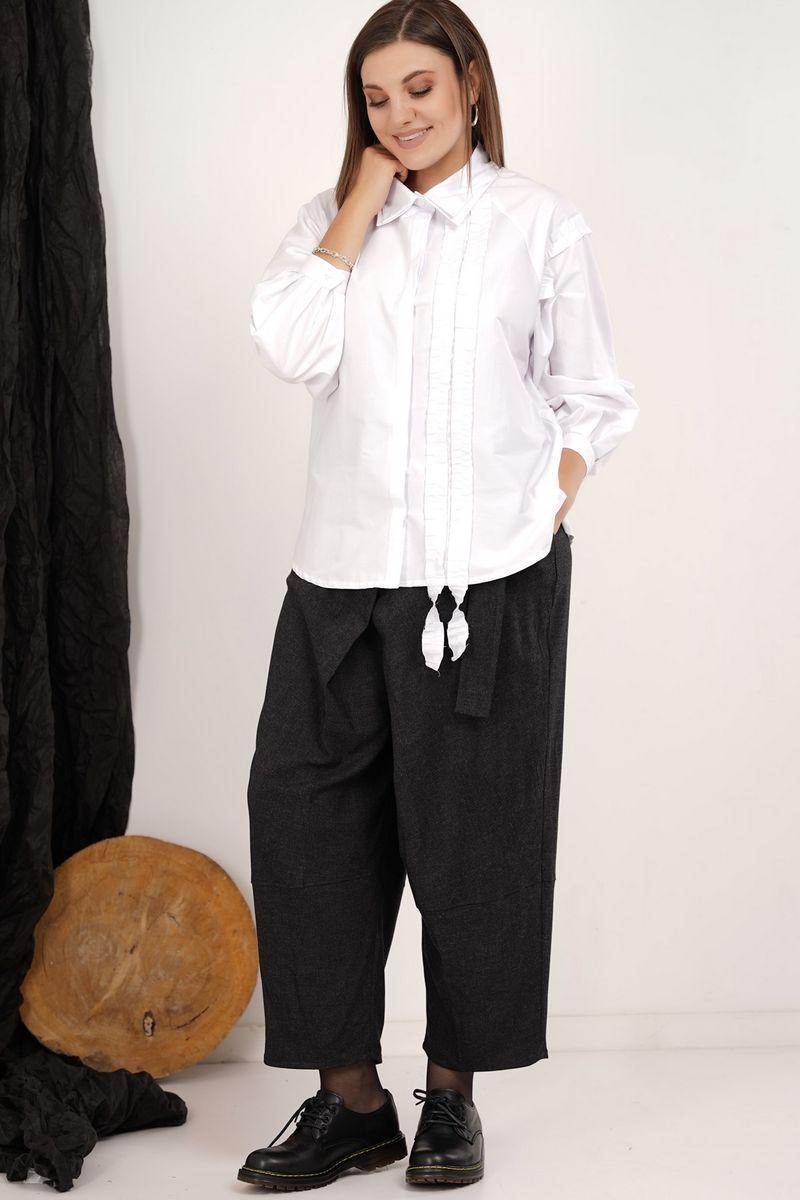 блуза GRATTO 4134 белый