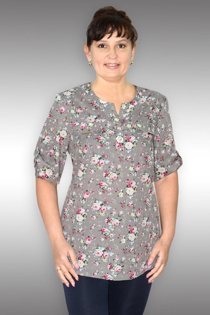 блуза Таир-Гранд 62178-1 какао