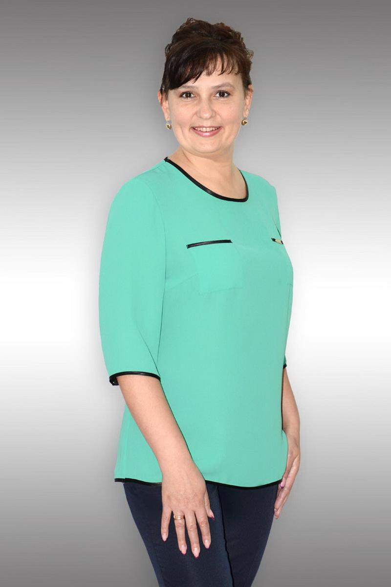 блуза Таир-Гранд 62180-1 зеленый