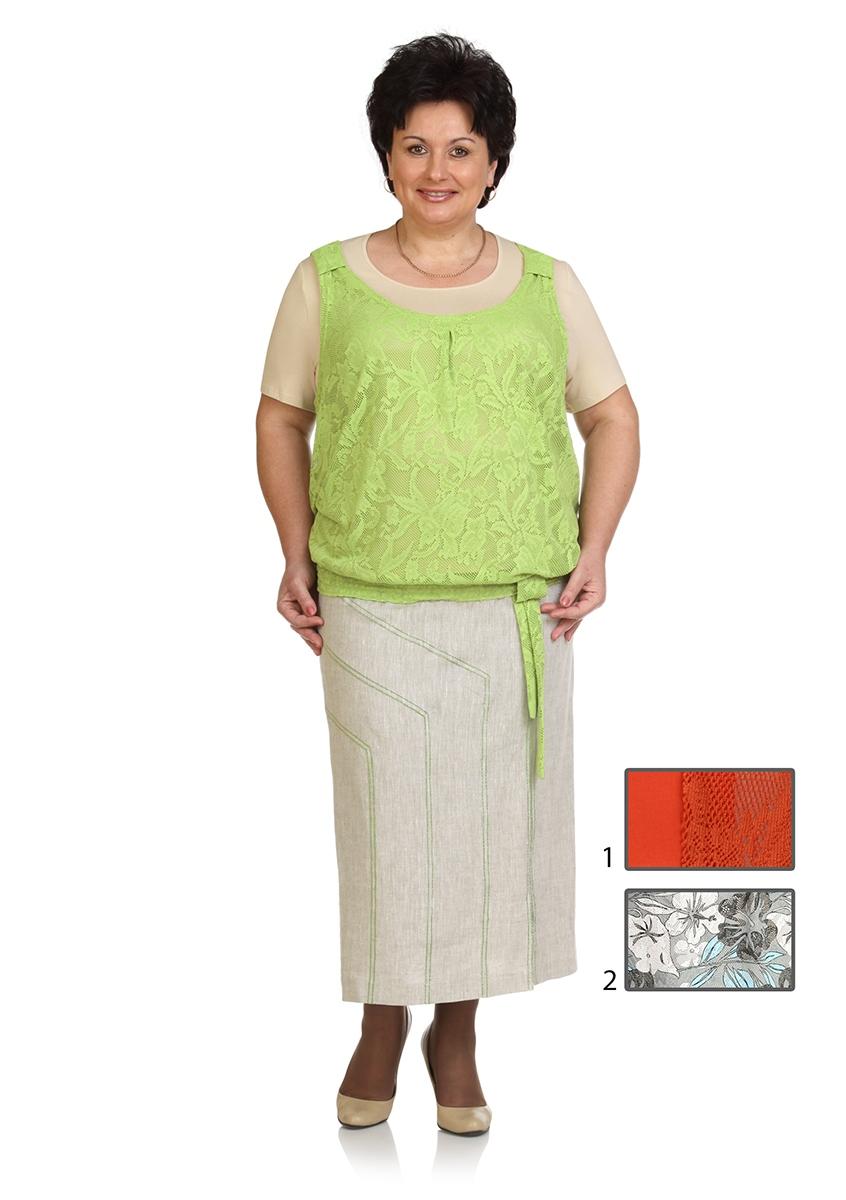 блуза,  юбка Classic Moda 071-1