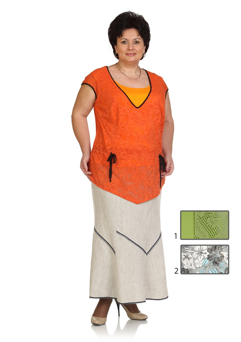 майка,  туника,  юбка Classic Moda 392