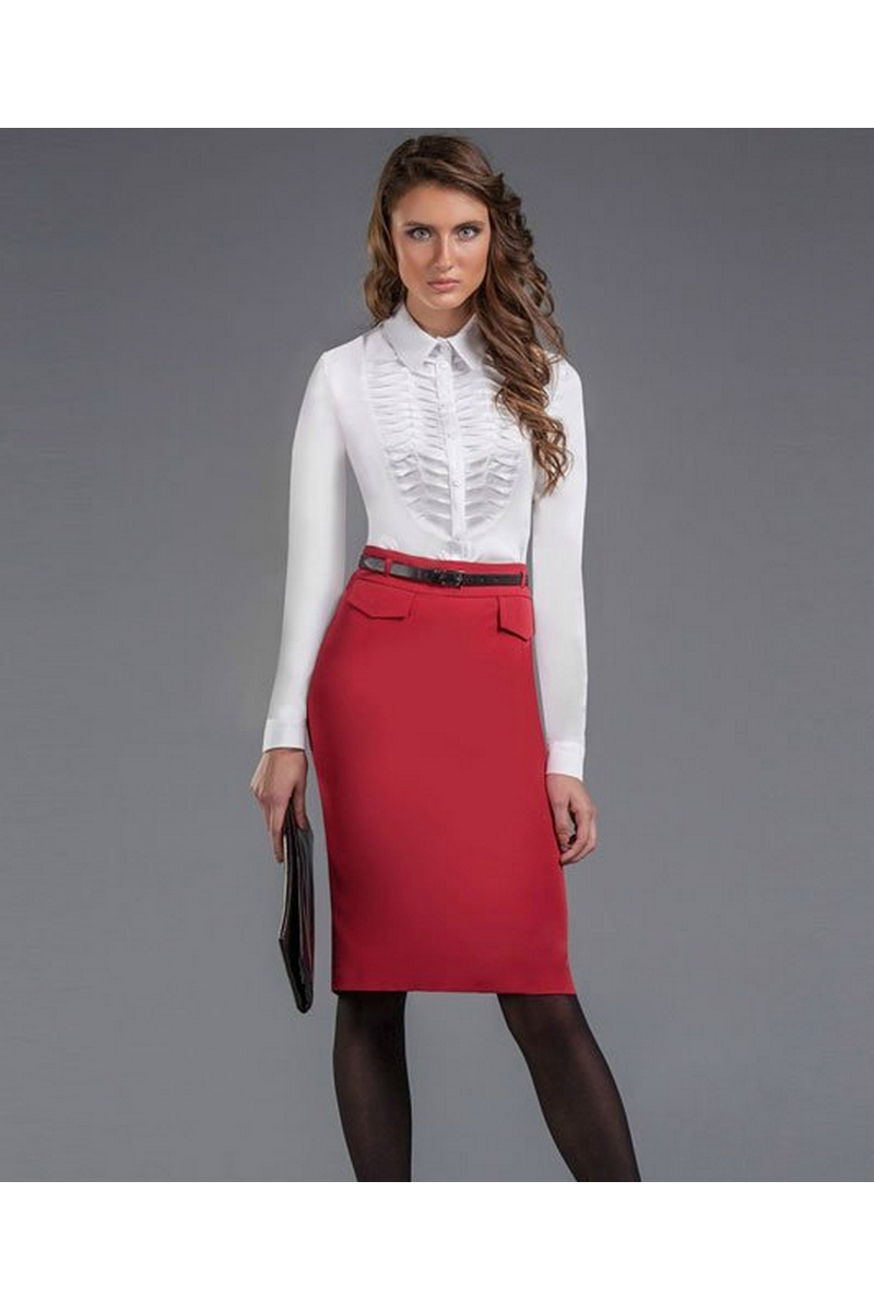юбка AMORI 3005 красный