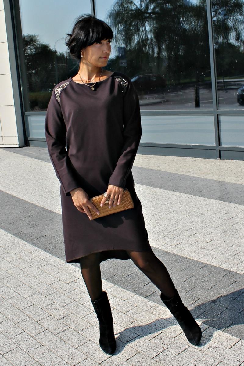платье AMORI 9129 сливовый