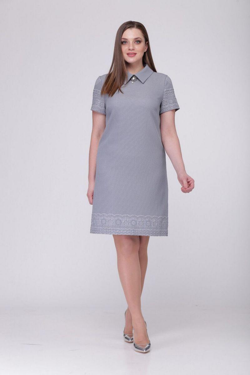 платье TAiER 765 серый